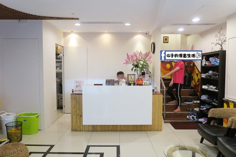 滿憶亭養身會館-台北車站按摩.櫃台