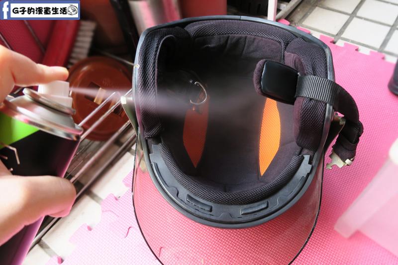 防御工事-安全帽/汽車內裡 乾洗消臭清潔慕斯可搭配銀離子除臭制菌噴霧