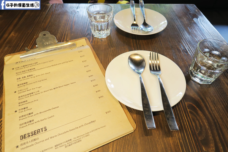 Waiting Bistro忠孝復興餐酒館 menu