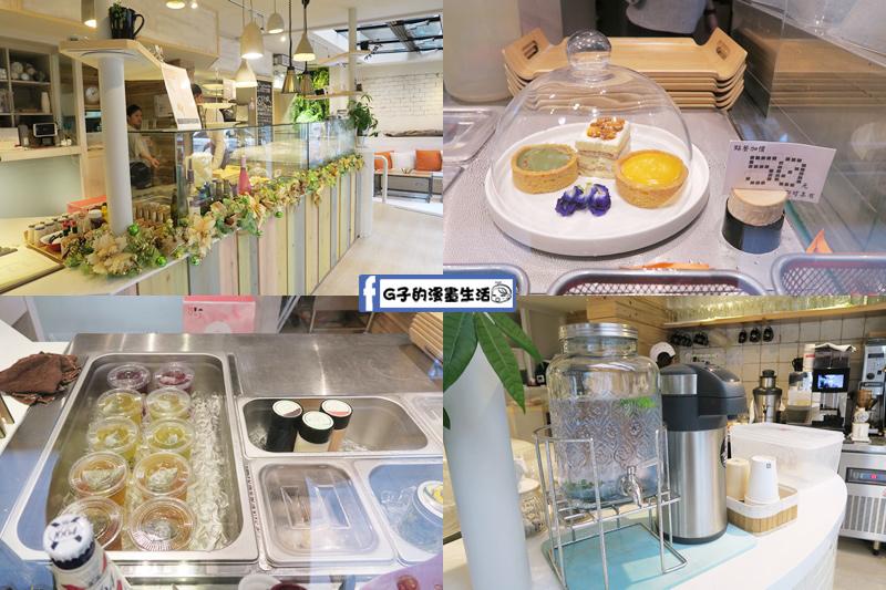F&F 仁愛•輕概念食飲餐廳 自助選擇配菜和飲料