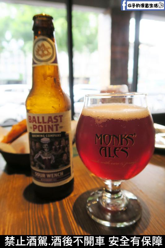 精釀啤酒-美國Ballast Point黑莓酸小麥