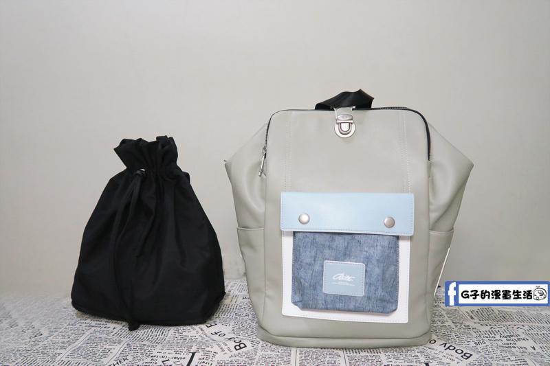 RITE 獅口包 無痕拆裝子母包  束口小側背包