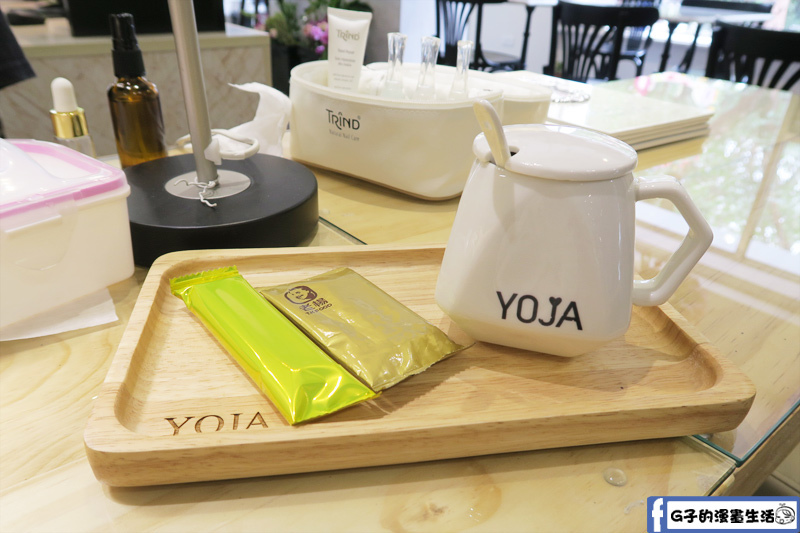 中山站-YOJA 由甲智能美甲 招待養身茶和小點心
