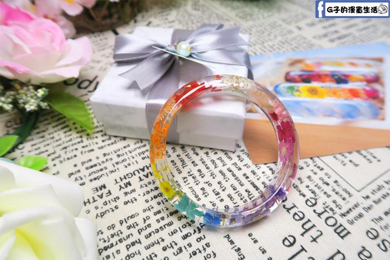 Cloris Gift永綻花手鐲 十二星座綜合漸層花環