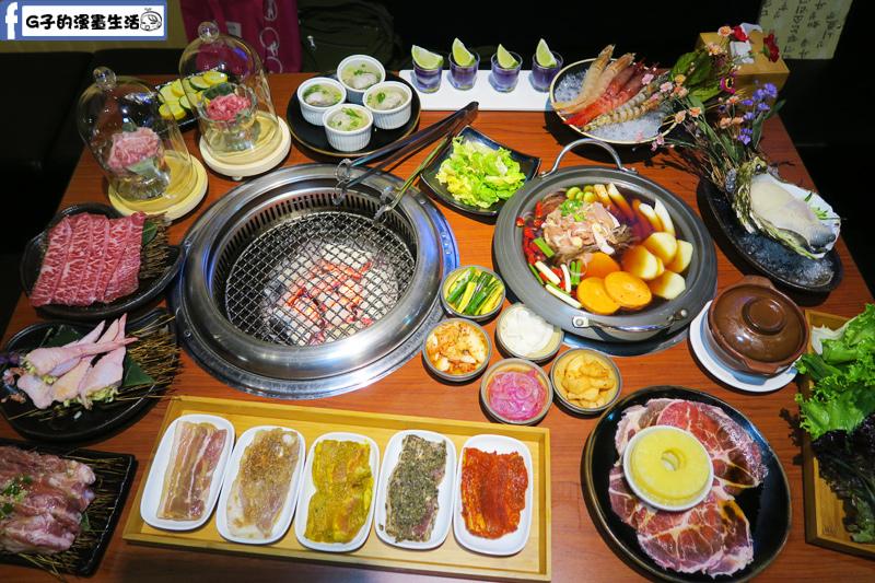 甘釜京 韓日燒肉料理專門店 韓式料理 日式燒烤