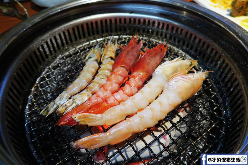 甘釜京 韓日燒肉料理專門店 金多蝦組合 葡萄蝦.國王蝦.斑節蝦