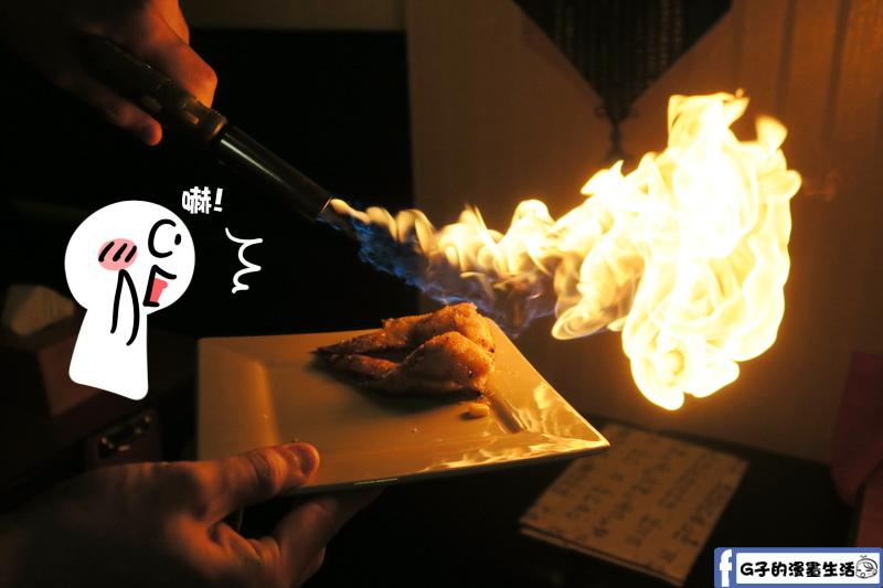 甘釜京 韓日燒肉料理專門店 火烤表演甘糖雞翅