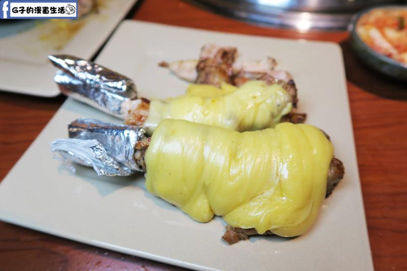 甘釜京 韓日燒肉料理專門店 起司豬肋排