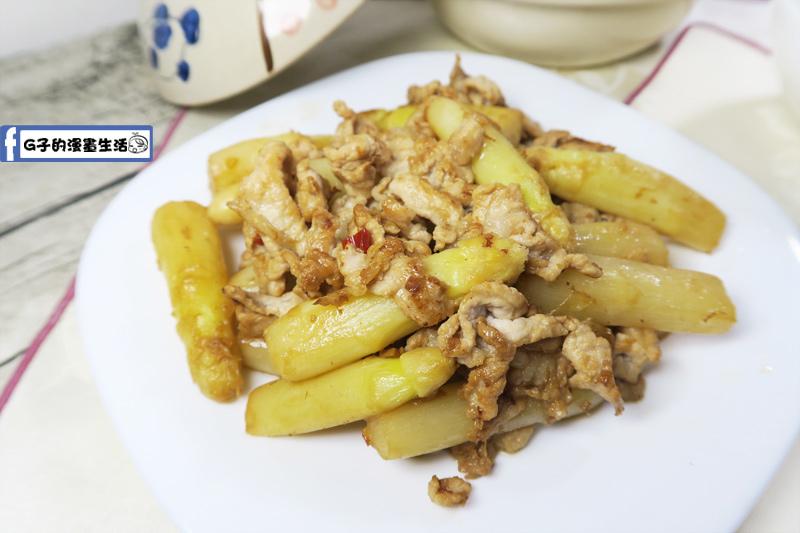 宸鳴白蘆筍XO醬炒肉絲