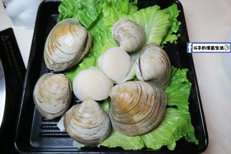 永和火鍋-高湯鍋 牛奶貝6顆 大干貝2顆