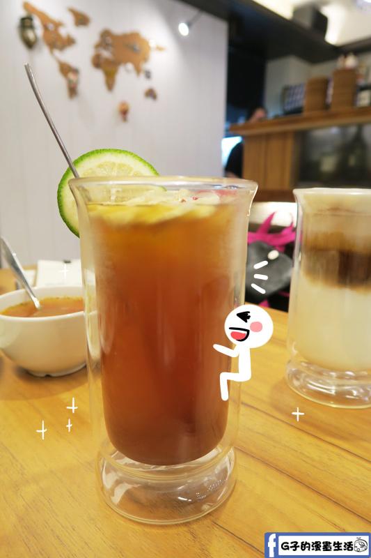 松江南京-GIVE ME PIE法式鹹派 新鮮水果茶