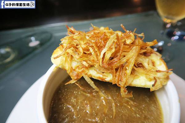 夏慕尼鐵板燒1314情人套餐 法式洋蔥湯