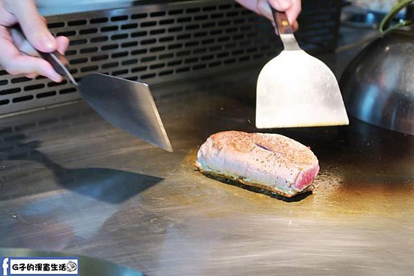 夏慕尼鐵板燒1314情人套餐 主餐鴨胸
