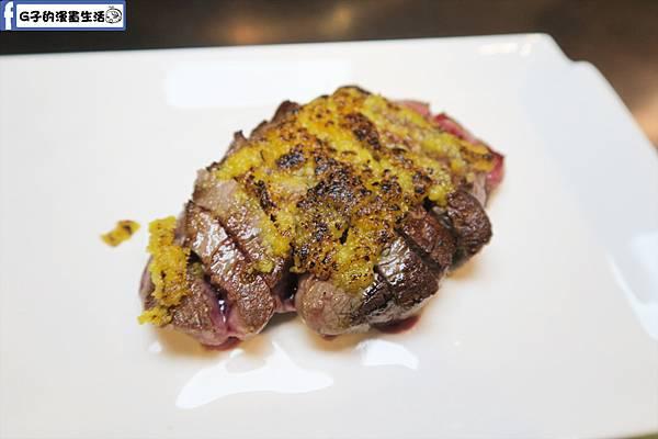 夏慕尼鐵板燒1314情人套餐主餐 鯷魚奶油菲力