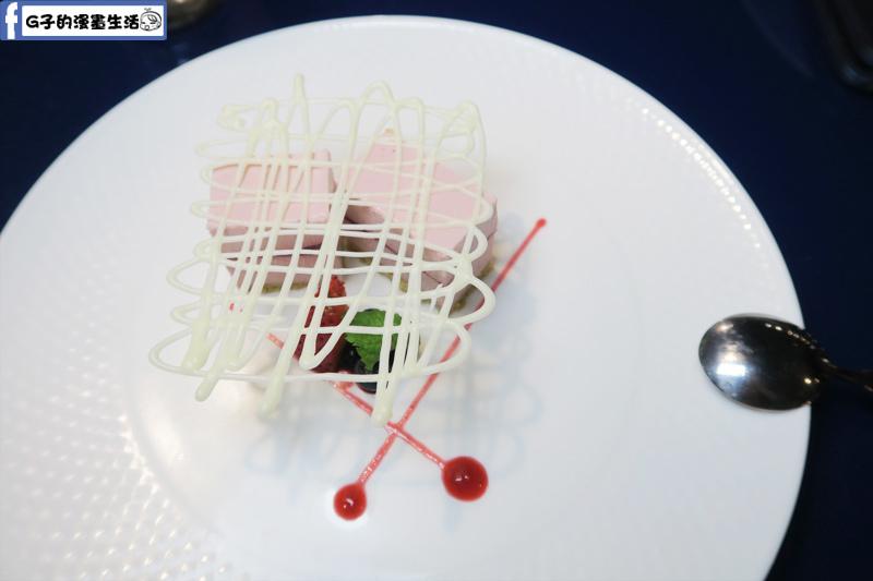 夏慕尼鐵板燒1314情人套餐 甜點 莓果甜心慕斯