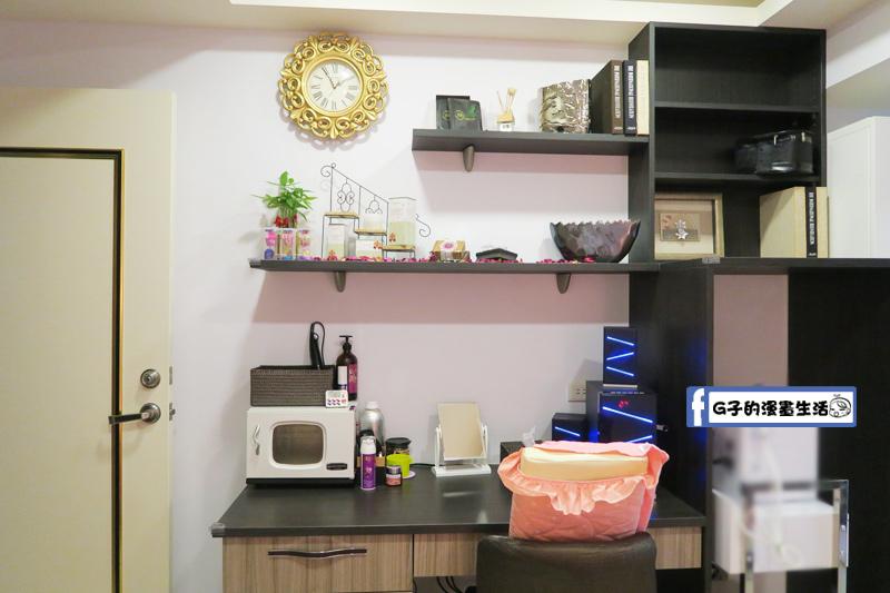 東區SPA按摩-安佐雅美容美體會館 梳妝台