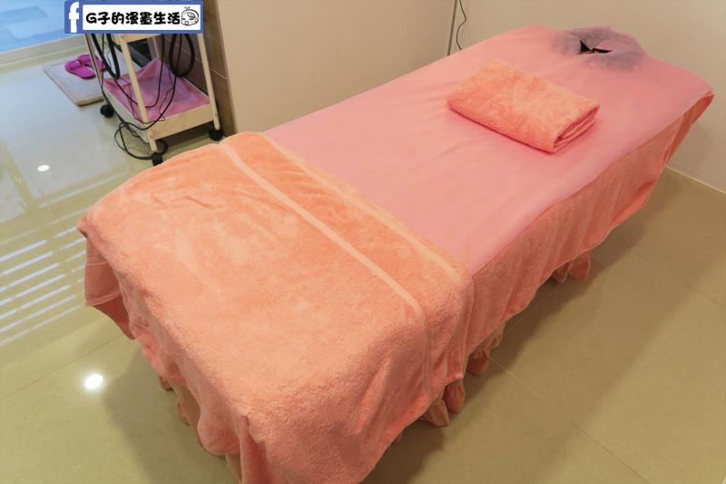 東區SPA按摩-安佐雅美容美體會館 美容床