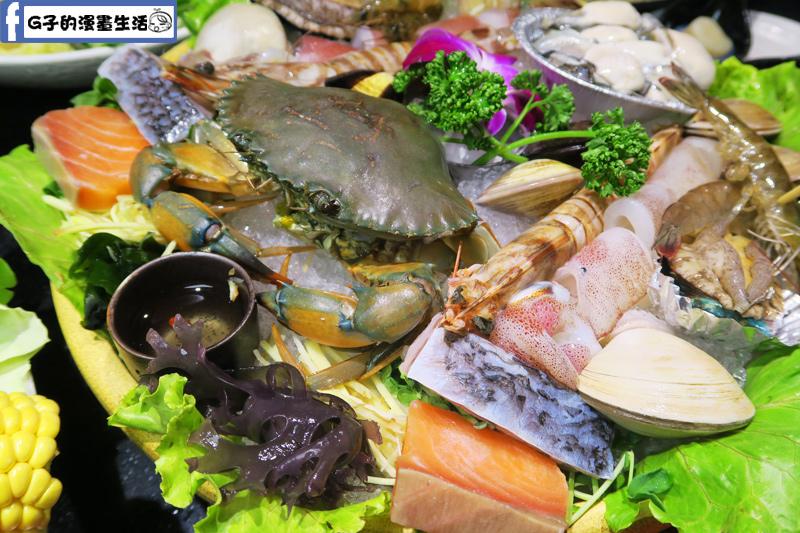天鍋宴 天母店 台北火鍋 鮭魚 鱸魚片都很大片