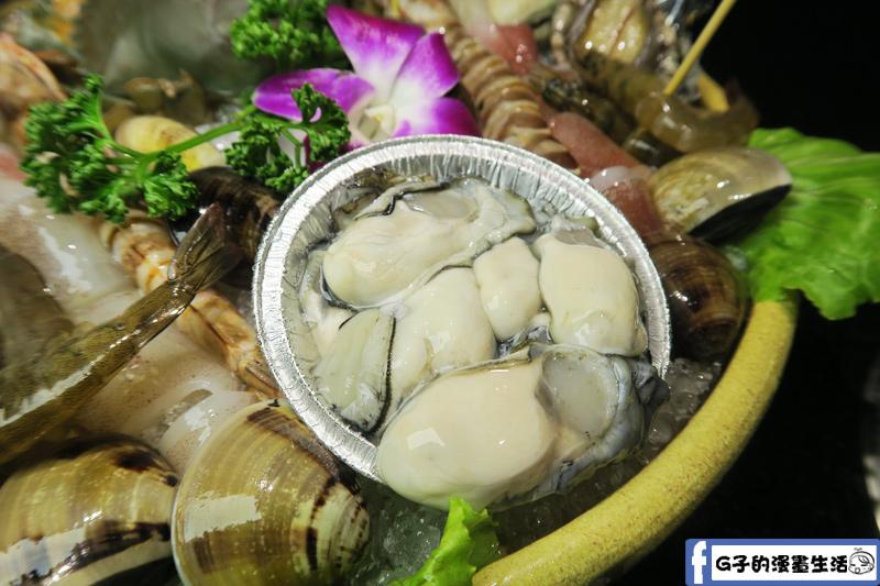 天鍋宴 天母店 台北火鍋 海陸雙人鍋 鮮蚵很多