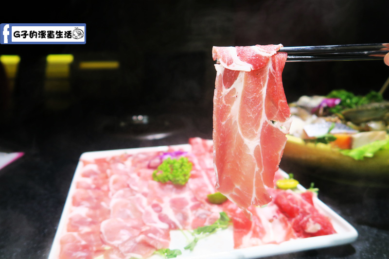天鍋宴 肉品-梅花豬肉(台灣黑豬肉)