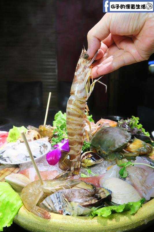 天鍋宴 天母店 台北火鍋 明蝦很大隻