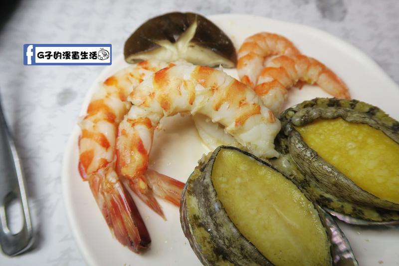 天鍋宴 天母店 台北火鍋 明蝦跟活蝦都很新鮮