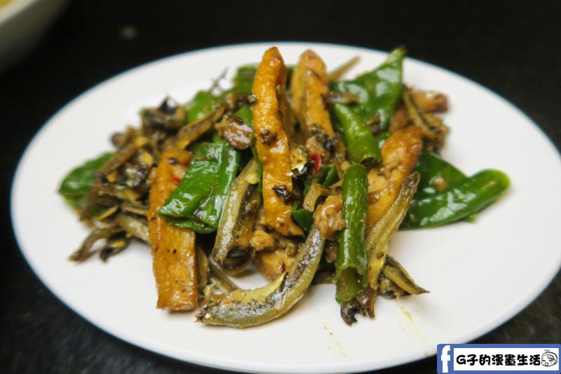西門麵店 小魚乾炒豆干