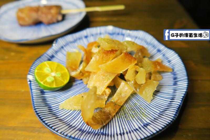 拾玖串燒居酒屋 香烤水晶魚片