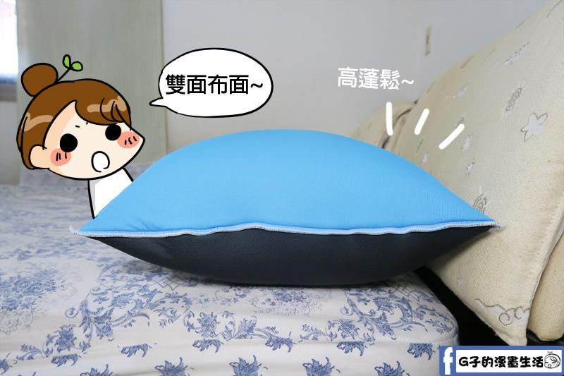 easy day舒壓排汗四季枕 雙功能枕套設計