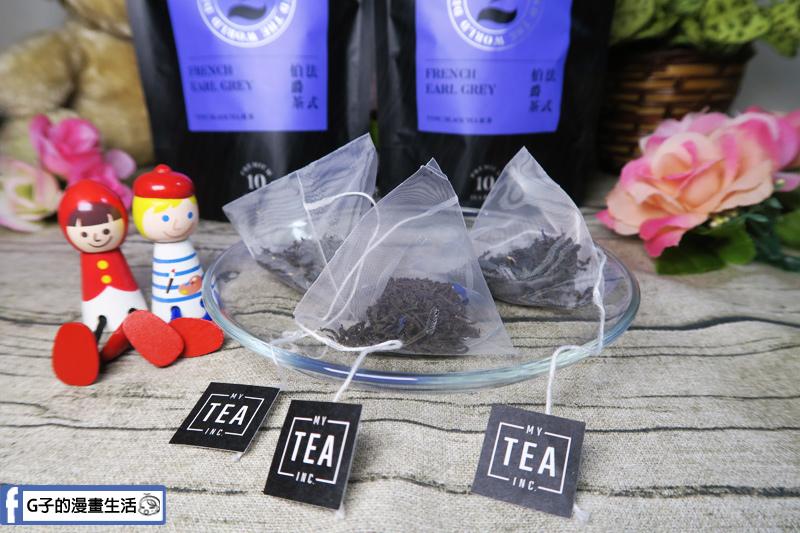 My Tea Inc法式伯爵茶 立體茶包 錫蘭紅茶 茶葉