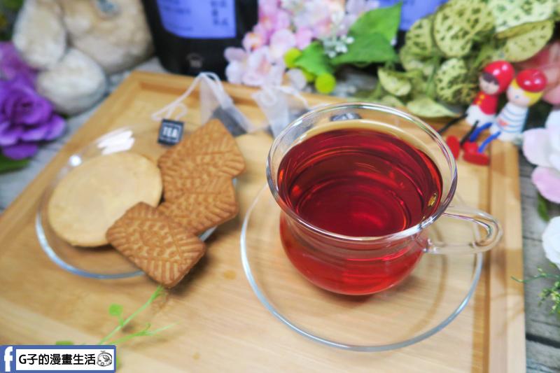My Tea Inc法式伯爵茶 錫蘭紅茶配上餅乾