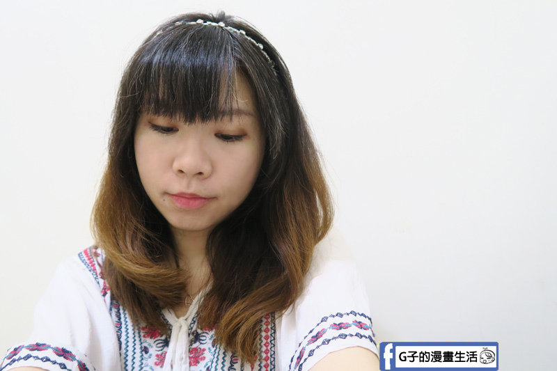 Anqueen溫控魔髮造型梳,也可做變化,打造微捲髮