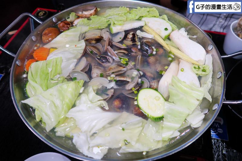 皇上吉饗極品唐風燒肉 火鍋 皇帝鍋 沙蜆.安格斯牛.蔬菜