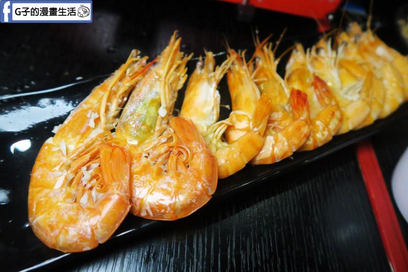 皇上吉饗極品唐風燒肉皇帝鍋 天使紅蝦.藍鑽蝦.白蝦.草蝦香蕉蝦