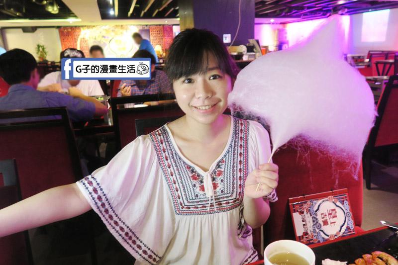 皇上吉饗極品唐風燒肉 東區燒烤吃到飽 棉花糖