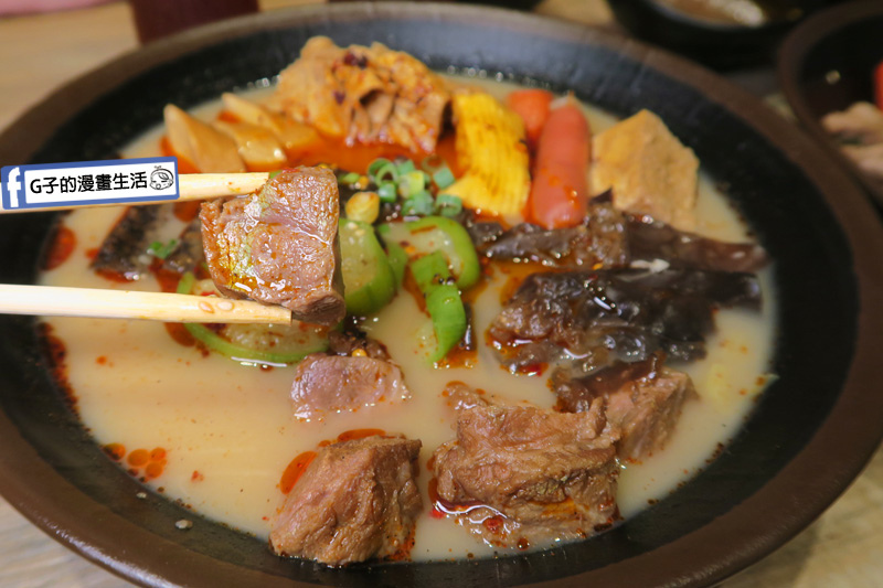 潮味決-麻辣燙‧燒滷味 麻辣豚骨湯 嘴邊肉