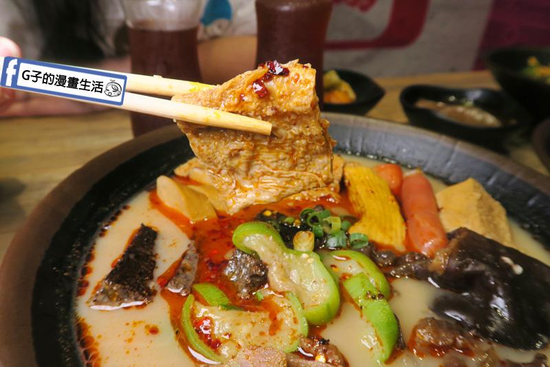 潮味決-麻辣燙‧燒滷味 麻辣豚骨湯 豆皮