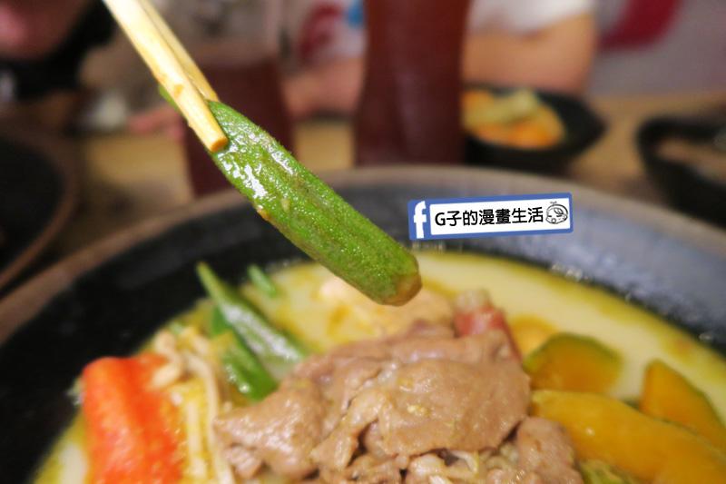 潮味決-麻辣燙‧燒滷味 麻油薑黃湯 秋葵