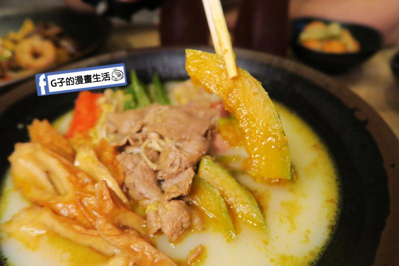 潮味決-麻辣燙‧燒滷味 麻油薑黃湯 南瓜