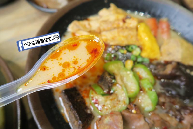 潮味決-麻辣燙‧燒滷味 麻辣豚骨湯