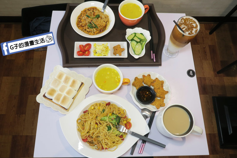 中永和/早午餐餐廳-小狐狸中西式料理.簡餐很便宜
