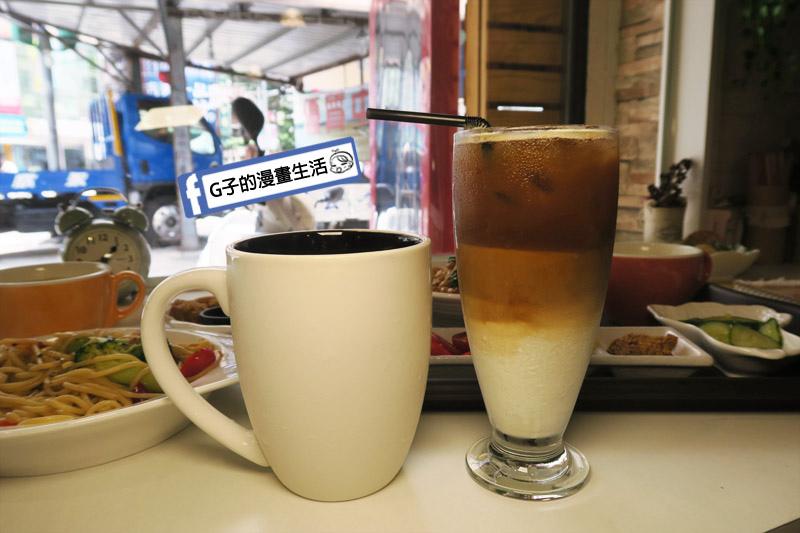 中永和/早午餐-小狐狸中西式料理.榛果厚鮮奶茶.榛果拿鐵咖啡