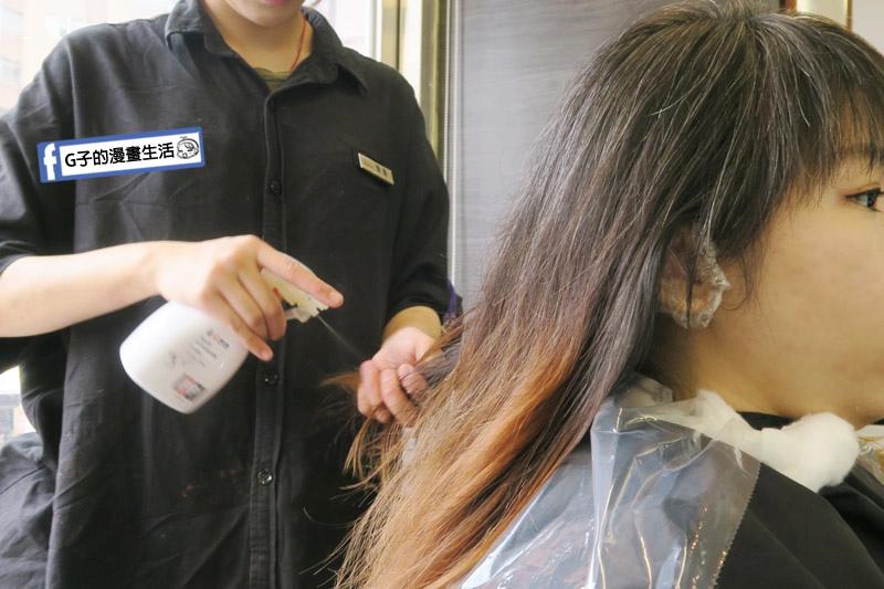 東區Casa&view Hair 設計師JOY 髮尾染前護髮