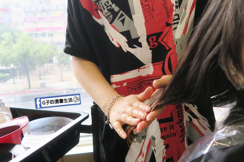東區Casa&view Hair 設計師JOY染髮+歐拉護髮