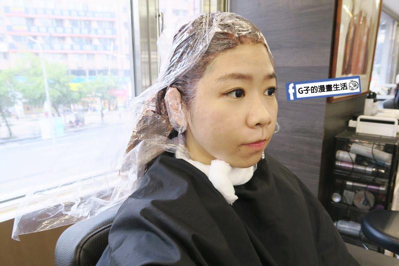 東區Casa&view Hair 設計師JOY白髮染整頭 區段式染髮 挑染+歐拉護髮