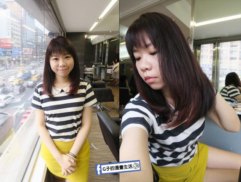 東區Casa&view Hair 設計師JOY區段式染髮 挑染+歐拉護髮