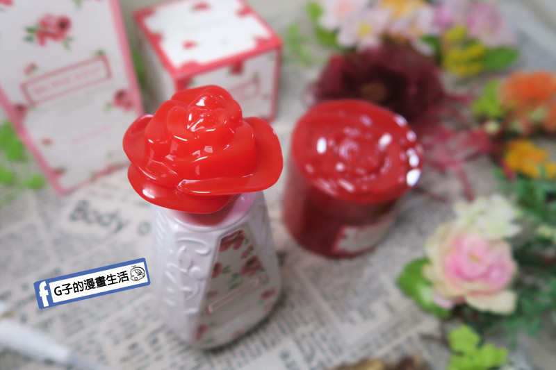 Tehillah 玫瑰海鹽洗髮膏 玫瑰果油護髮素 玫瑰造型很可愛
