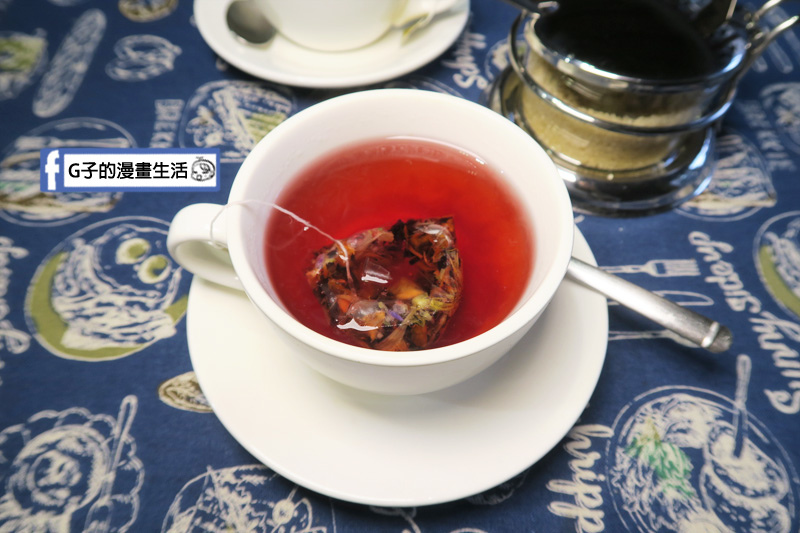 永和肥禿子美式餐廳-英國Tregothnan翠格斯南-紅玫果茶 無咖啡因