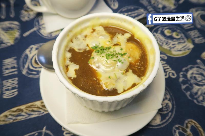 永和肥禿子美式餐廳-焗烤法式洋蔥湯