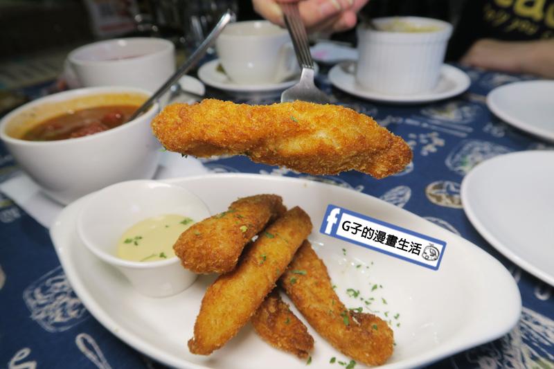 肥禿子美式餐廳-雞柳條佐蜂蜜芥末醬